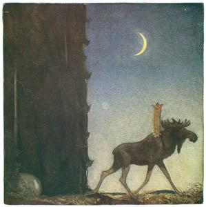 ヨン・バウエル – 大へらじかと小さな綿の実姫 1 (Swedish Folk Talesより)のサムネイル画像