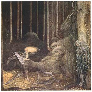 ヨン・バウエル – 大へらじかと小さな綿の実姫 3 (Swedish Folk Talesより)のサムネイル画像