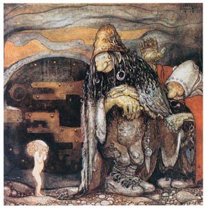 thumbnail John Bauer – The Changelings 1 [from Swedish Folk Tales]