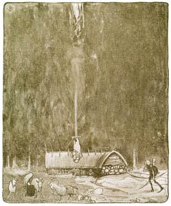 ヨン・バウエル – ダグとダガとスカイマウンテンのフライングトロル 1 (Swedish Folk Talesより)のサムネイル画像