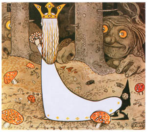 ヨン・バウエル – ダグとダガとスカイマウンテンのフライングトロル 5 (Swedish Folk Talesより)のサムネイル画像