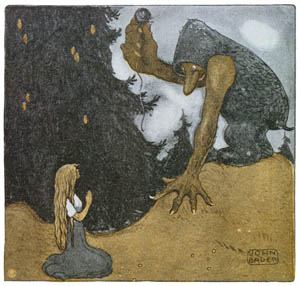thumbnail John Bauer – The Prince Without a Shadow 3 [from Swedish Folk Tales]