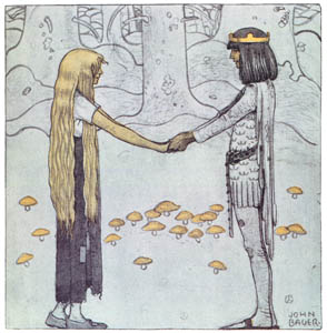 thumbnail John Bauer – The Prince Without a Shadow 5 [from Swedish Folk Tales]