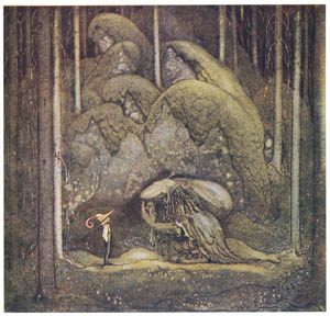 thumbnail John Bauer – The Boy and the Trolls, or the Adventure 2 [from Swedish Folk Tales]