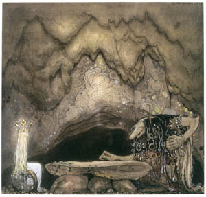 thumbnail John Bauer – The Boy and the Trolls, or the Adventure 3 [from Swedish Folk Tales]