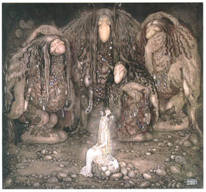 thumbnail John Bauer – The Boy and the Trolls, or the Adventure 4 [from Swedish Folk Tales]