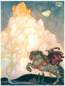 thumbnail John Bauer – The Maiden in the Castle of Rosy Clouds 2 [from Swedish Folk Tales]