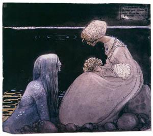 thumbnail John Bauer – Agneta and the Sea King 1 [from Swedish Folk Tales]