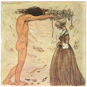 thumbnail John Bauer – Agneta and the Sea King 3 [from Swedish Folk Tales]
