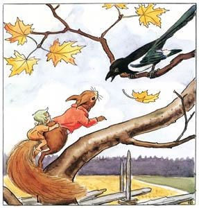 エルサ・ベスコフ – 挿絵6 (どんぐりぼうやより)のサムネイル画像