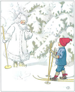 エルサ・ベスコフ – 挿絵3 (ウッレのスキーのたびより)のサムネイル画像