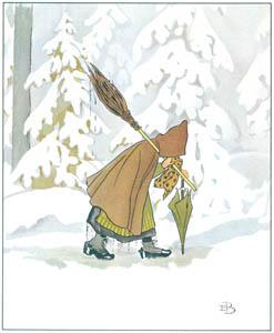 エルサ・ベスコフ – 挿絵4 (ウッレのスキーのたびより)のサムネイル画像