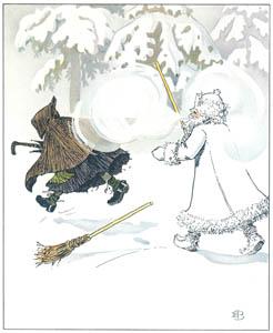 エルサ・ベスコフ – 挿絵5 (ウッレのスキーのたびより)のサムネイル画像