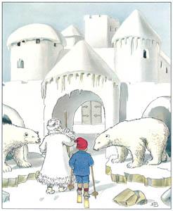 エルサ・ベスコフ – 挿絵6 (ウッレのスキーのたびより)のサムネイル画像