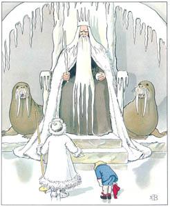 エルサ・ベスコフ – 挿絵7 (ウッレのスキーのたびより)のサムネイル画像
