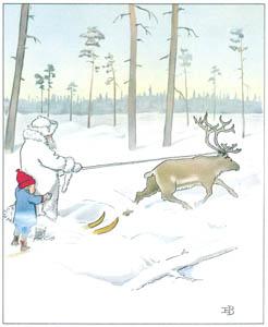 エルサ・ベスコフ – 挿絵11 (ウッレのスキーのたびより)のサムネイル画像