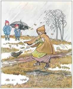 エルサ・ベスコフ – 挿絵13 (ウッレのスキーのたびより)のサムネイル画像