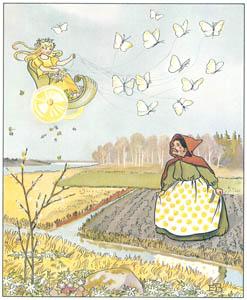 エルサ・ベスコフ – 挿絵14 (ウッレのスキーのたびより)のサムネイル画像