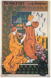 thumbnail Henri Thiriet – Pierrefort. Estampes et Affiches. [from Catalogue de l'Exhibition Paris de la Belle Epoque 1982]