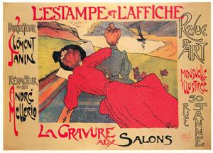 thumbnail Jean Peské – L'Estampe et l'affiche. Revue d'art. [from Catalogue de l'Exhibition Paris de la Belle Epoque 1982]