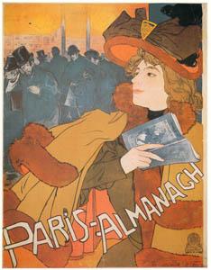 thumbnail Georges de Feure – Paris-Almanach [from Catalogue de l'Exhibition Paris de la Belle Epoque 1982]