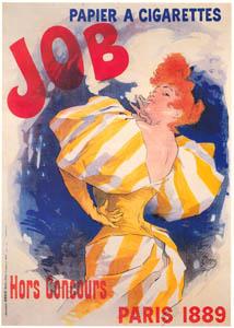 ジュール・シェレ – ジョブ – 巻き煙草紙 (ベルエポックの巴里展より)のサムネイル画像