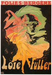 ジュール・シェレ – ロイ・フラー – フォリー・ベルジェール (ベルエポックの巴里展より)のサムネイル画像