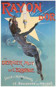 thumbnail PAL (Jean de Paleologu) – RAYON D'OR [from Catalogue de l'Exhibition Paris de la Belle Epoque 1982]