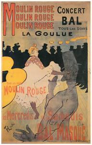 thumbnail Henri de Toulouse-Lautrec – Moulin Rouge: La Goulue. [from Catalogue de l'Exhibition Paris de la Belle Epoque 1982]