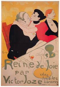 アンリ・ド・トゥールーズ=ロートレック – 『悦楽の女王』 ヴィクトル・ジョーズ著 (ベルエポックの巴里展より)のサムネイル画像