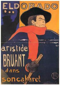 アンリ・ド・トゥールーズ=ロートレック – アリスティド・ブリュアン – エルドラド (ベルエポックの巴里展より)のサムネイル画像