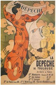 モーリス・ドニ – トゥールーズ・デペッシュ紙 (ベルエポックの巴里展より)のサムネイル画像