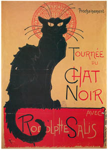 thumbnail Théophile Steinlen – Chat Noir de Rodolphe Salis. [from Catalogue de l'Exhibition Paris de la Belle Epoque 1982]