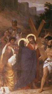 ウィリアム・アドルフ・ブグロー – ゴルゴタの丘に向かう途中で母に出会うキリスト (Bouguereauより)のサムネイル画像
