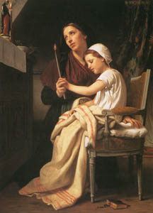 thumbnail William Adolphe Bouguereau – The Thank Offering [from Bouguereau]