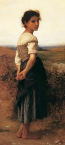 thumbnail William Adolphe Bouguereau – The Young Shepherdess [from Bouguereau]