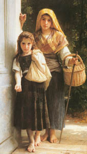 thumbnail William Adolphe Bouguereau – The Little Beggar Girls [from Bouguereau]