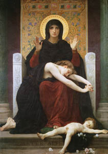 thumbnail William Adolphe Bouguereau – Virgin of Consolation [from Bouguereau]