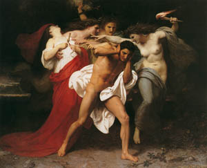 thumbnail William Adolphe Bouguereau – Orestes Pursued by the Furies [from Bouguereau]