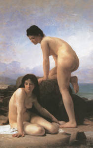 thumbnail William Adolphe Bouguereau – The Bathers [from Bouguereau]