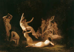 thumbnail William Adolphe Bouguereau – The Nymphaeum [from Bouguereau]