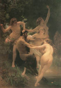 thumbnail William Adolphe Bouguereau – Nymphs and Satyr [from Bouguereau]