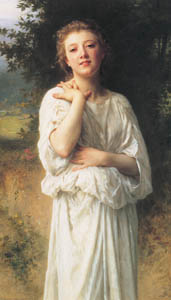 thumbnail William Adolphe Bouguereau – Girl [from Bouguereau]