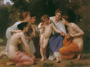 thumbnail William Adolphe Bouguereau – Admiration [from Bouguereau]