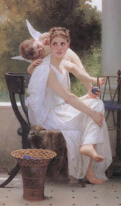 thumbnail William Adolphe Bouguereau – Work Interrupted [from Bouguereau]