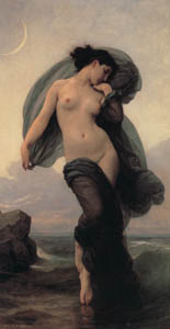 thumbnail William Adolphe Bouguereau – Evening Mood [from Bouguereau]