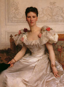 thumbnail William Adolphe Bouguereau – Portrait of Madame la Comtesse de Cambacérès [from Bouguereau]