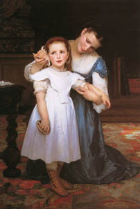 thumbnail William Adolphe Bouguereau – The Shell [from Bouguereau]