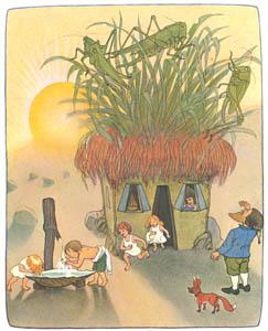 エルンスト・クライドルフ – こびとの家 (くさはらのこびとより)のサムネイル画像