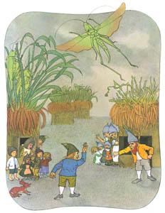 エルンスト・クライドルフ – こびとの村のけんかするふたりのお父さんこびと (くさはらのこびとより)のサムネイル画像